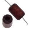 Wood Bead Cylinder Large Hole 6X9mm Polished Mahogany
